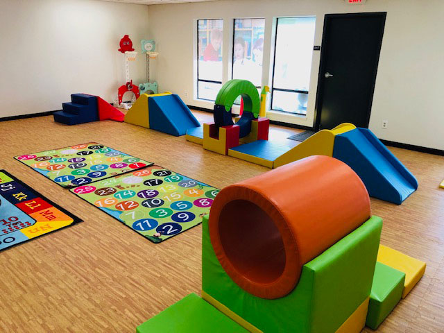 Fun Activity and Physical Education room at My Preschool Sacramento