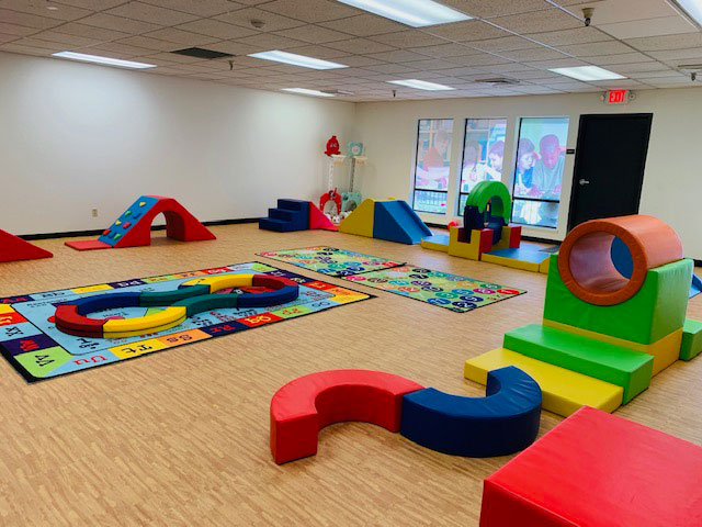 Play Area at Sacramento Preschool